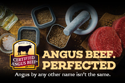 Peppercorn Crusted Tri-tip with Caramelized Onion and Blue Cheese recipe provided by the Certified Angus Beef® brand.