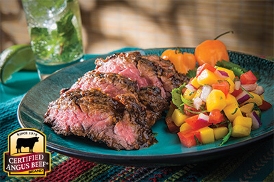 Sweet Tamarind Chili Steak  recipe provided by the Certified Angus Beef® brand.