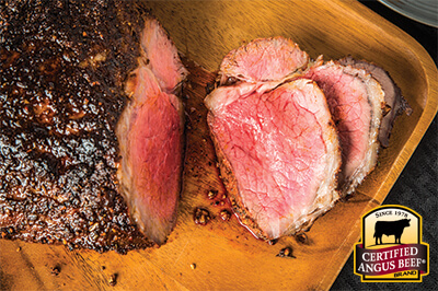 Beer & Brown Sugar Marinated Roast recipe provided by the Certified Angus Beef® brand.