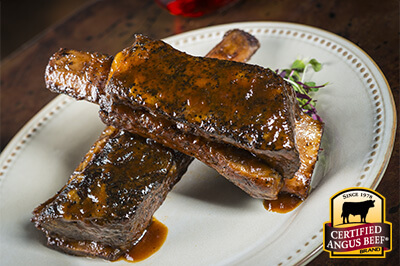 Beer Braised Short Ribs recipe provided by the Certified Angus Beef® brand.