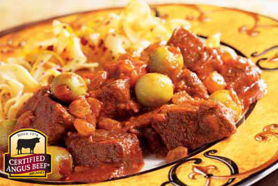 Cuban-style Sirloin Tips recipe provided by the Certified Angus Beef® brand.