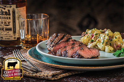 Herb Marinated Top Sirloin Steak recipe provided by the Certified Angus Beef® brand.