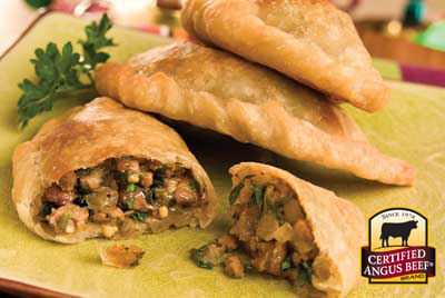 Sirloin Empanadas recipe provided by the Certified Angus Beef® brand.
