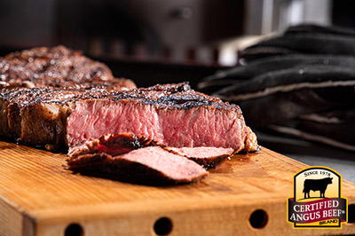 Charbroiled Chimney Steak recipe provided by the Certified Angus Beef® brand.
