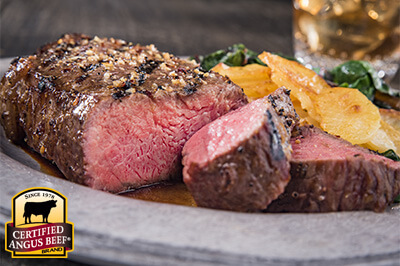 Strip Steaks with Classic Steak Rub recipe provided by the Certified Angus Beef® brand.