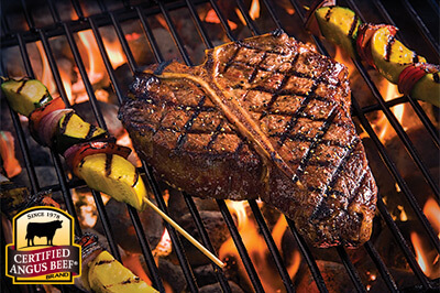 Tex Mex T-bones recipe provided by the Certified Angus Beef® brand.