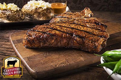 T-bones with Classic Steak Sauce recipe provided by the Certified Angus Beef® brand.