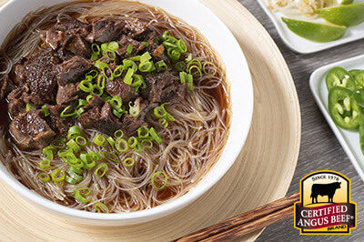 Best Beef Pho recipe provided by the Certified Angus Beef® brand.