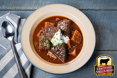 Hungarian Goulash recipe provided by the Certified Angus Beef® brand.