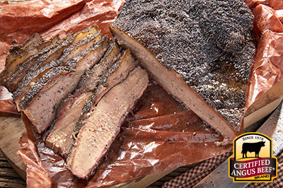 Texas-Style Smoked Brisket recipe provided by the Certified Angus Beef® brand.