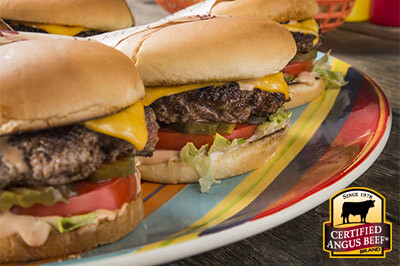 Classic Griddle Burgers with Special Sauce recipe provided by the Certified Angus Beef® brand.