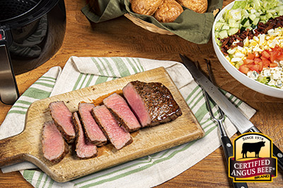 Air Fryer Top Round London Broil recipe provided by the Certified Angus Beef® brand.