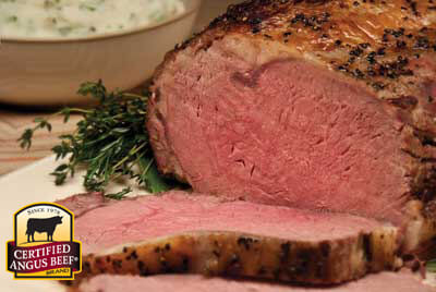 Rotisserie Rib Roast recipe provided by the Certified Angus Beef® brand.