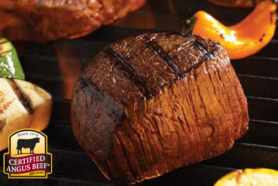 Grilled Filet with Cumin & Coriander Paste recipe provided by the Certified Angus Beef® brand.
