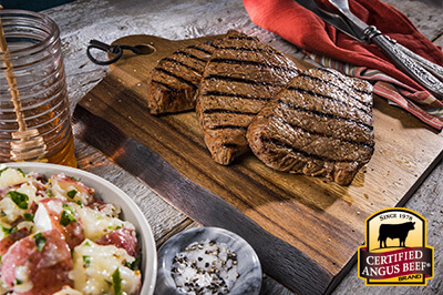 Sweet Heat Bourbon London Broil recipe provided by the Certified Angus Beef® brand.