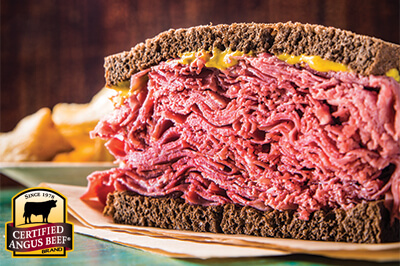 Made-From-Scratch Corned Beef Brisket recipe provided by the Certified Angus Beef® brand.