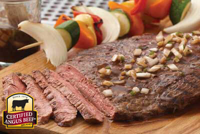 Beer Marinated Grilled Steak recipe provided by the Certified Angus Beef® brand.
