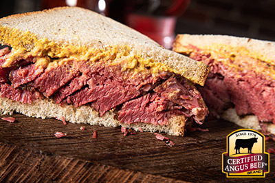 Montreal Smoked Beef  recipe provided by the Certified Angus Beef® brand.