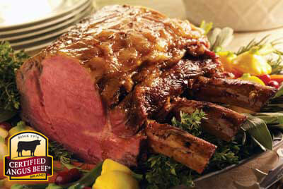 Celebration Ribeye Roast recipe provided by the Certified Angus Beef® brand.