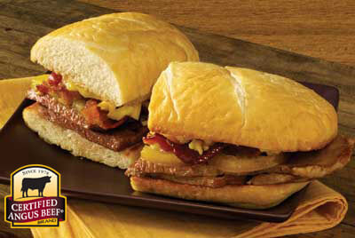 Bacon, Steak and Tomato Sandwich recipe provided by the Certified Angus Beef® brand.