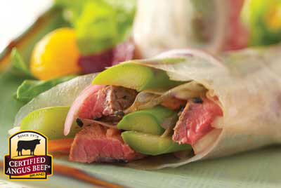Thai Spring Rolls recipe provided by the Certified Angus Beef® brand.