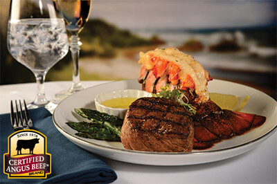 Turf & Surf recipe provided by the Certified Angus Beef® brand.