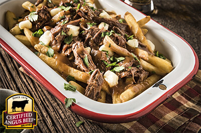 Beef Poutine recipe provided by the Certified Angus Beef® brand.