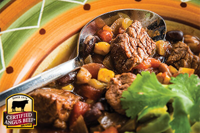 Southwestern Beef and Bean Stew recipe provided by the Certified Angus Beef® brand.