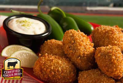 Jalapeño Beef Poppers recipe provided by the Certified Angus Beef® brand.