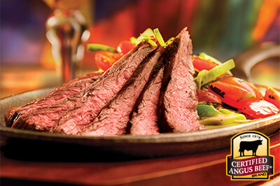 Tequila Fajitas recipe provided by the Certified Angus Beef® brand.