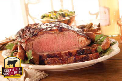 New York Strip Roast recipe provided by the Certified Angus Beef® brand.